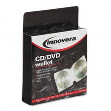CD/DVD Wallet Holds 24 Disks