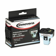 <strong>Innovera®</strong> 74Wn Compatible C8774WN (02) Ink Cartridge 1000 Page-Yield, Light Cyan