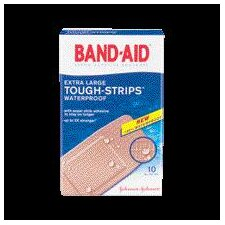 "3/4"" X 4"" BAND-AID® Touch Strips™ Waterproof Bandages (10 Per Box)"