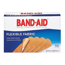 "<strong>Johnson & Johnson</strong> X 3"" Band-Aid® Brand Flexible Fabric Woven Bandage (100 Per Box)"