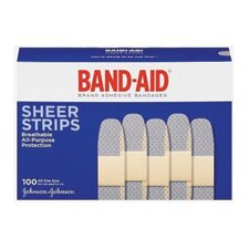 "<strong>Johnson & Johnson</strong> X 3"" Band-Aid® Brand Sheer Bandage (100 Per Box)"