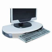 CRT/LCD Stand with Keyboard Storage, 23 X 13 1/4 X 3