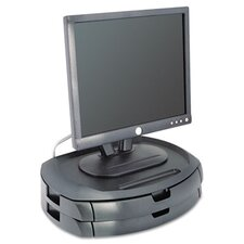<strong>Kantek</strong> LCD Monitor Stand with 2 Drawers