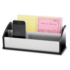Letter/Message Sorter, Black Acrylic/Aluminum