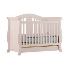 <strong>Storkcraft</strong> Vittoria Fixed Side Convertible Crib