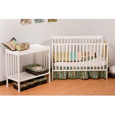 <strong>Storkcraft</strong> Milan Crib Set and Changer Combo