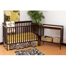 Milan Crib Set and Changer Combo