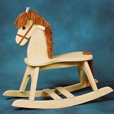 <strong>Storkcraft</strong> PlayTyme Child's Rocking Horse in Natural
