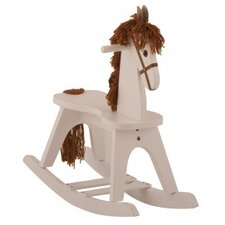 PlayTyme Child's Rocking Horse in White