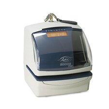 <strong>Lathem Time Company</strong> 5000E Plus Electronic Time Recorder/Document Stamp/Numbering Machine