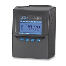 "Calculating Time Recorder, 6""x5""x8"", Black"