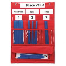 <strong>Learning Resources®</strong> Counting and Place Value Pocket Chart with Cards