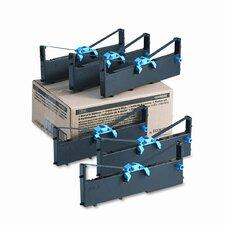 1040888/1040900 Cash Register/OS Ribbon, Nylon, 8M Yield, Black, 6/box