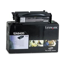 12A8420 Toner Cartridge, 6000 Page-Yield