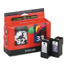 18C0532 (32, 33) Ink Cartridge, 2/Pack