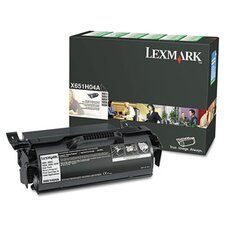 X651H04A High-Yield Toner, 25000 Page-Yield