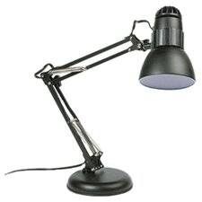 "Knight Adjustable 22"" H Table Lamp with Bowl Shade"