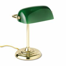 "Traditional Banker's 14"" H Table Lamp"