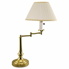"22"" H Table Lamp with Empire Shade"