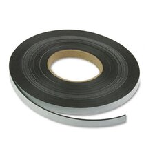 "Magnetic/Adhesive Tape, 1/2"" x 50-ft Roll"