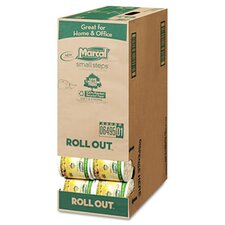 Small Steps 100% Recycled Roll-Out Convenience Pack Bathroom Tissue, 504 Sheets/Roll