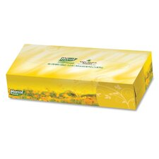 "Facial Tissue,2-Ply,Soft,4-1/2""x8-3/5""x1-4/5"",100 SH/BX,WE"