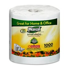 Bathroom Tissue, 1000 Sheets per Roll, 40 per Carton, White