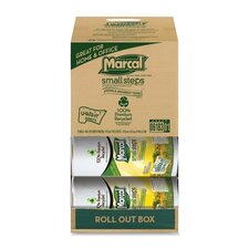 Paper Towels, 2-Ply, 140 Sheets, 12 per Carton, White