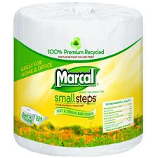 <strong>Marcal Paper Mills, Inc.</strong> 100% Recycled Bath Tissues