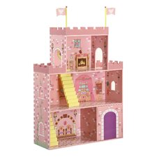 <strong>Badger Basket</strong> Fantasy Play Castle Dollhouse