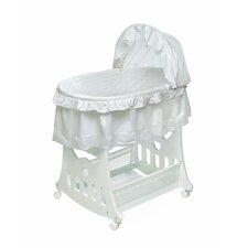 <strong>Badger Basket</strong> Convertible Batiste Convertible Bassinet