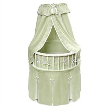 Elegance Bassinet with Waffle Bedding