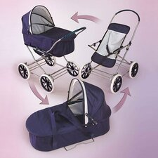 <strong>Badger Basket</strong> Just Like Mommy 3-in-1 Doll Pram Stroller