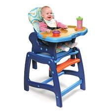 <strong>Badger Basket</strong> Envee High Chair with Play Table