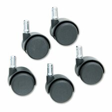 <strong>Master Caster Company</strong> Safety Casters (Set of 5)