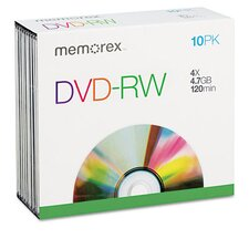 DVD-RW Discs (Set of 10)