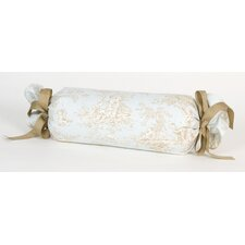 <strong>Glenna Jean</strong> Central Park Toile Roll Pillow
