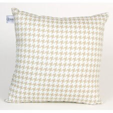 Central Park Houndstooth Check Pillow