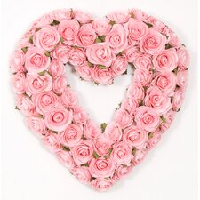 Rosebud Heart Wreath