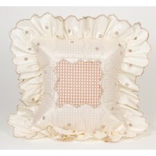Madison Dot Pillow with Ruffle