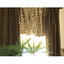 Tanzania Velvet Rod Pocket Drape Panel (Set of 2)