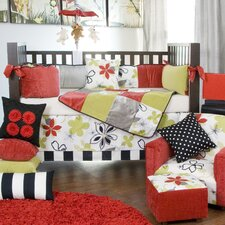 McKenzie 5 Piece Crib Bedding Collection with Diaper Stacker