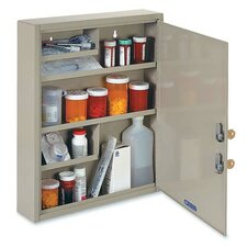 "<strong>MMF Industries</strong> Drug 18.1"" x 15.9"" Surface Mount Medicine Cabinet"