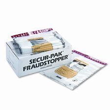 4 Bundle Capacity Tamper-Evident Cash Bags, 250 Bags/Box