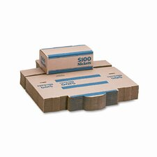 Corrugated Cardboard Coin Transport Box, Lock, 50 Boxes/Carton