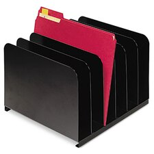 <strong>MMF Industries</strong> Steelmaster Desktop Vertical Organizer, Six Sections