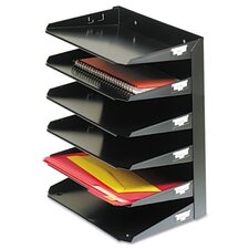 <strong>MMF Industries</strong> Steelmaster Steelmaster Multi-Tier Horizontal Letter Organizers, Six Tier