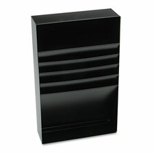 Steelmaster Four-Compartment Desk Drawer Stationery Holder