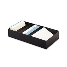 Steelmaster Five-Compartment Desk Drawer Stationery Holder