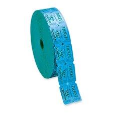 Double Ticket Roll, 10/CS, Blue